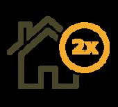 hypotheekaftrekbijtweehuizen