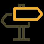 Stappenplan pictogram